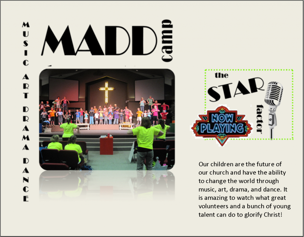 MADD Camp Collage